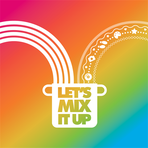 Let's mix it up logo image
