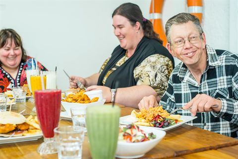 Disability Dinner program
