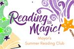 Summer reading club - reading is magic