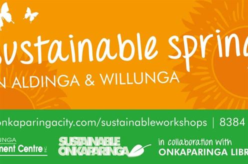 Sustainable Spring in Aldinga and Willunga