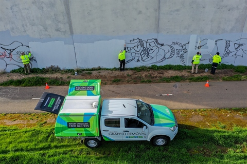graffiti volunteers