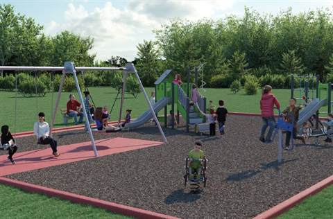 Pamela Park Playground Upgrade
