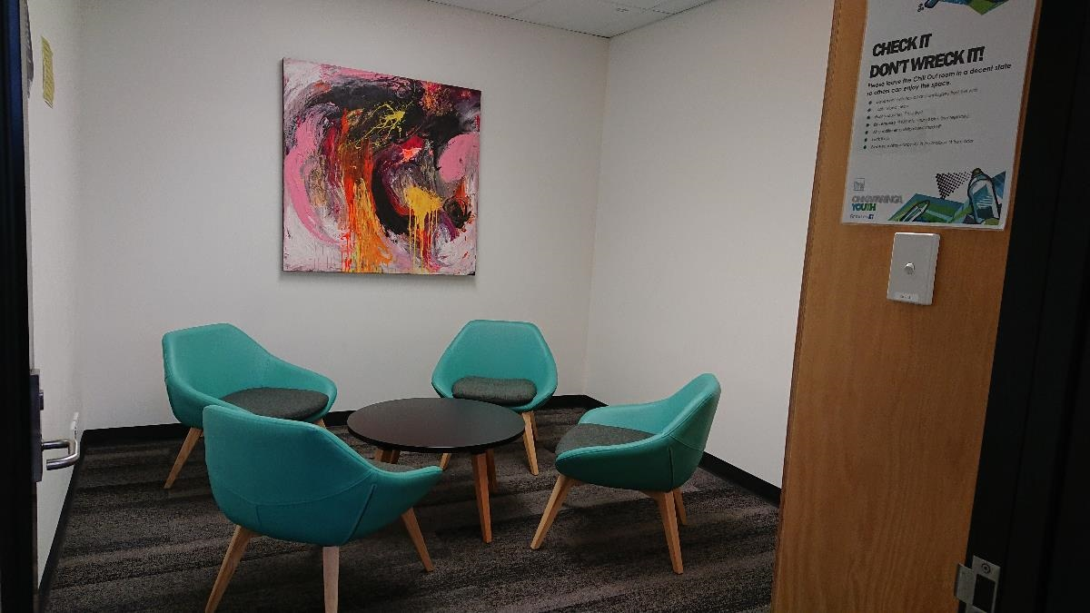 Studio 20 counselling room seating area