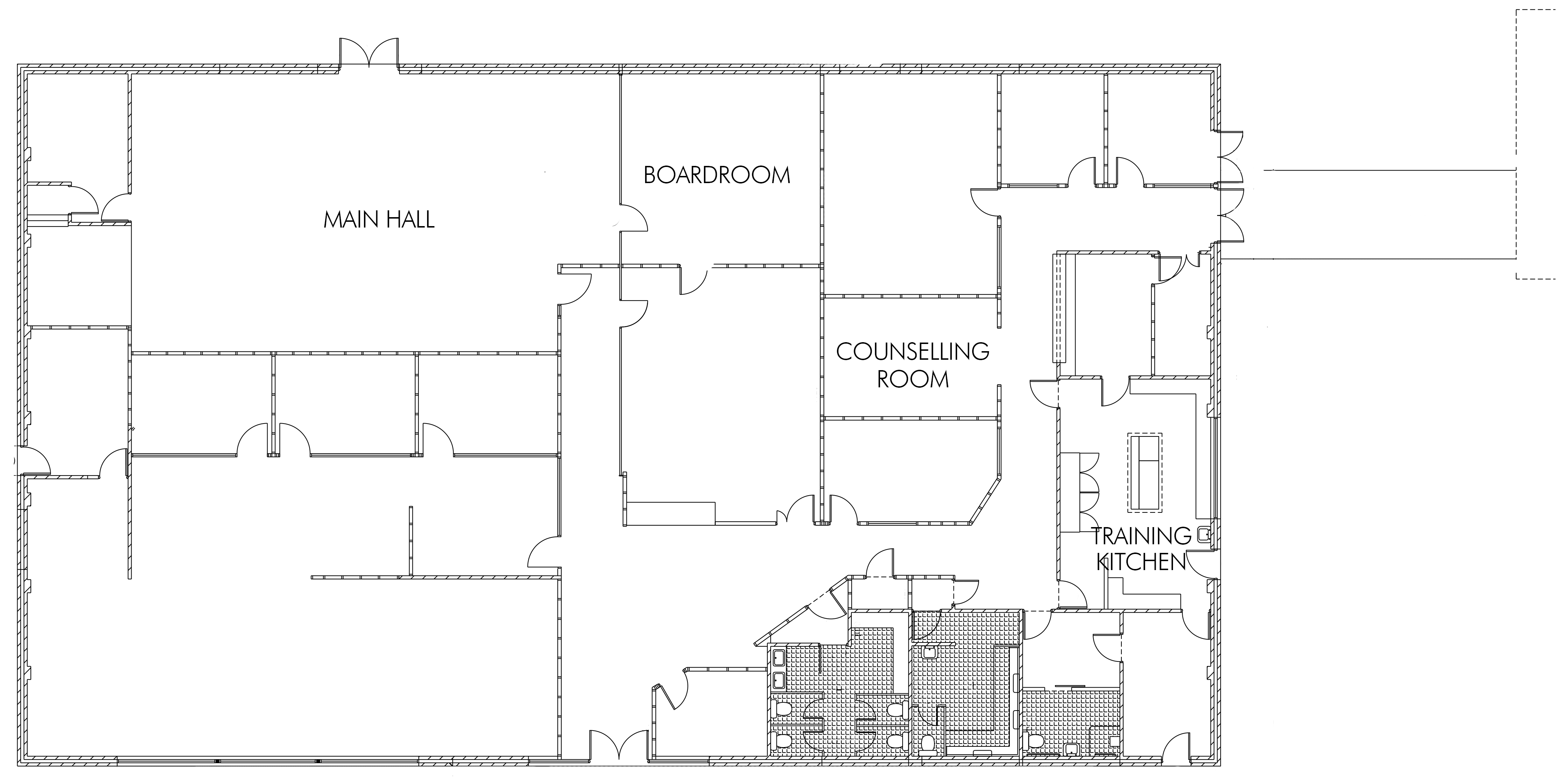 Wardli Youth Centre floor plan